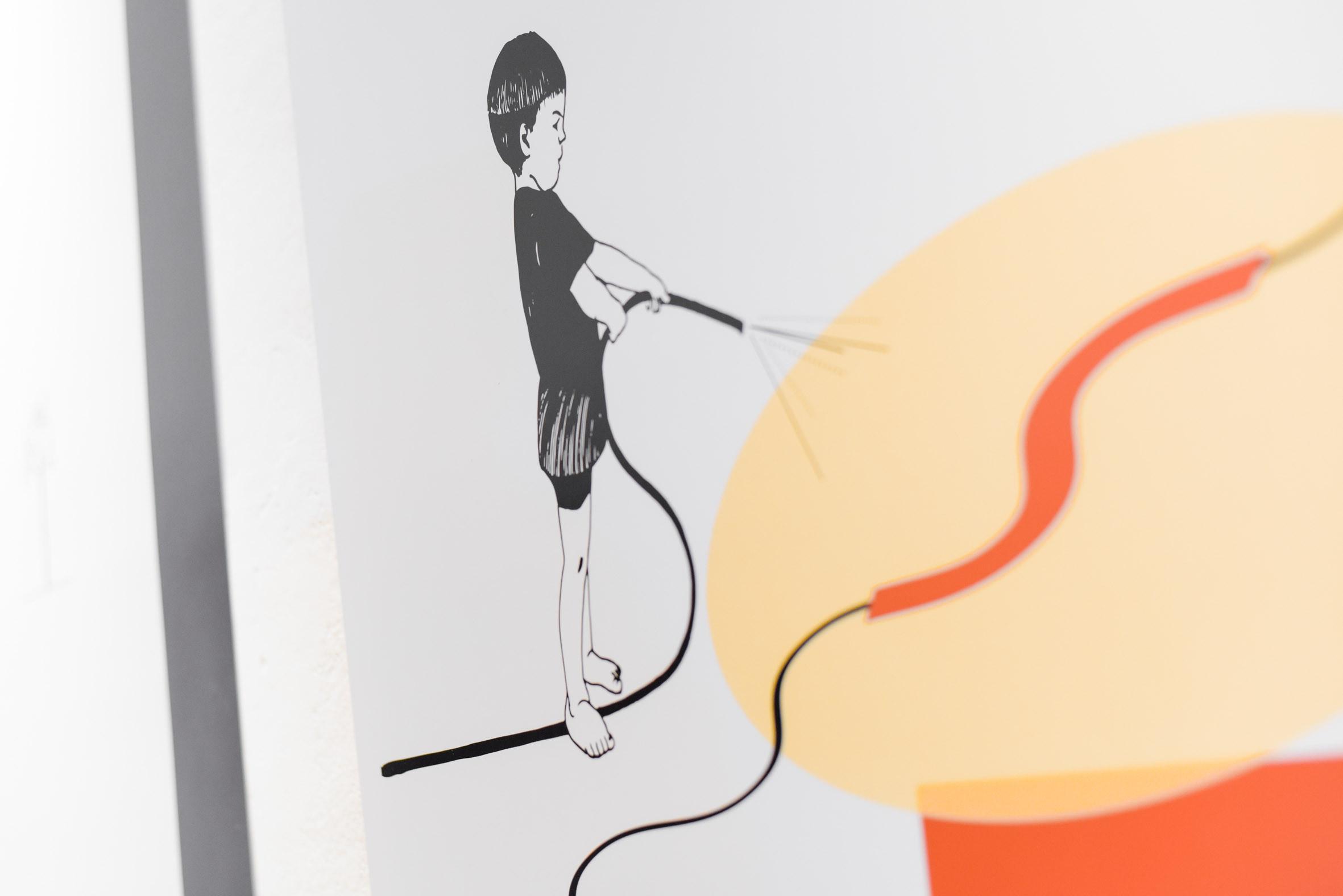 M, I, S, T, Y. Installation view: IG Bildende Kunst 2019